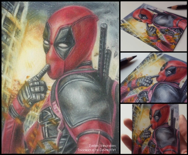 Deadpool, Ryan Reynolds par 1DBeatle